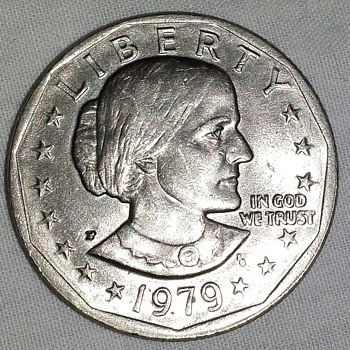 1979 Susan B Anthony Coin