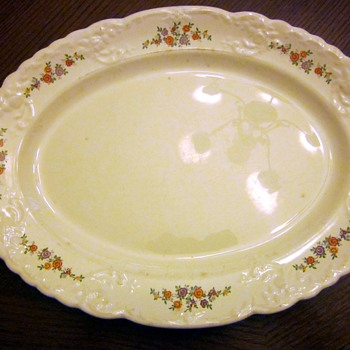 My mystery platter - China and Dinnerware