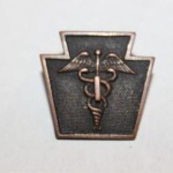 28ID 103RD Keystone Caduceus Medical Pin Badge?