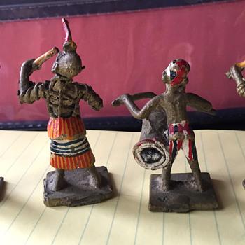Hand Painted Brass Figurines - Figurines