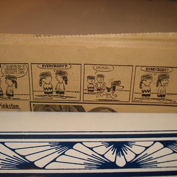 Charlie Brown Peanuts Cartoon 1955. 4 Frames. Carl Schultz - Advertising