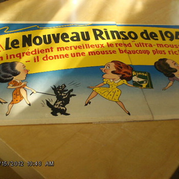 French sign from 1940 - Posters and Prints