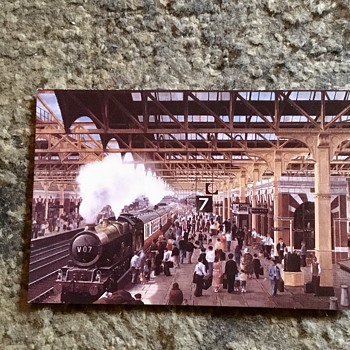 Old Birmingham postcards 1953 and 1967. - Postcards