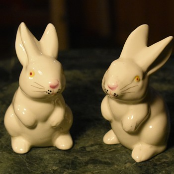 Two little Japanese Bunnies - Animals