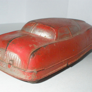 Auburn Ruber Futuristic Sedan, late 1940s.  - Model Cars