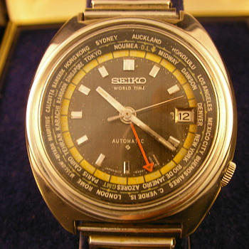 1973 Seiko 6117 World Time Automatic