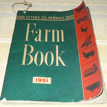 Cities Services Farm Book 1951 - Books