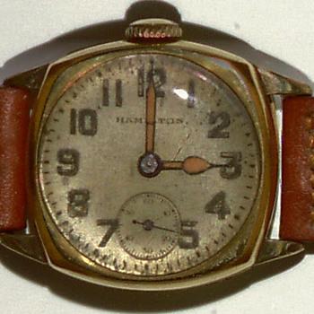 Early Hamilton wrist watch - Wristwatches