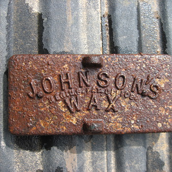 Johnson's Wax cast iron form - Tools and Hardware