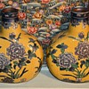 Imperial Peony Collection - Baum Bros. - China - Two Vases