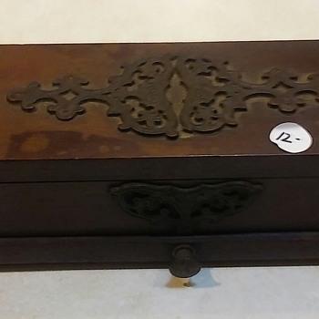 Antique Wooden Box - Furniture