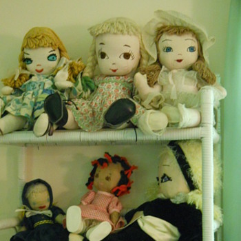 My Favorite Rag Dolls - Dolls