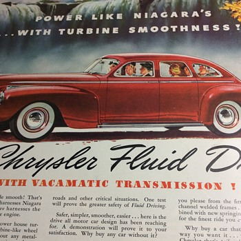 Fluid Drive  - Advertising