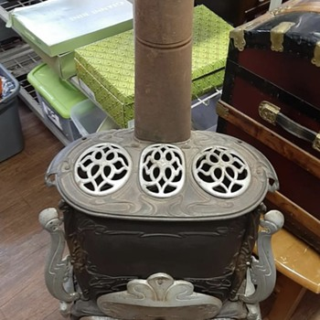 Cast Iron Parlor Stove  - Kitchen