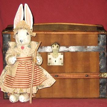 Little Patriotic Girl Bunny - Dolls