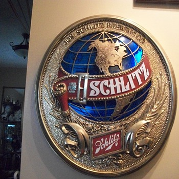 Beer signs - Schlitz