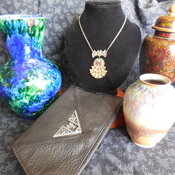 A Closer Look at Recent Jewelry and Flea Market Finds! :^D - Bags