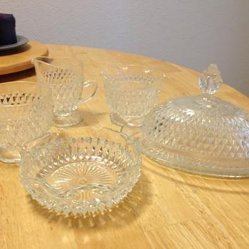 Glassware set diamond cut? - Glassware