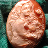 Lovely cameo of mother and child
