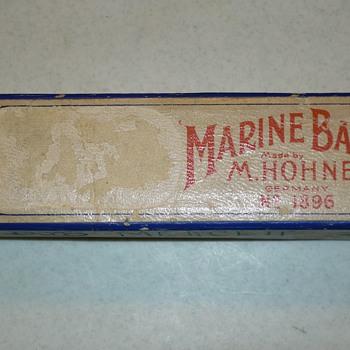 M. Hohner Marine Band Harmonica No. 1886