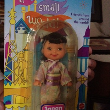 Disney -It's a Small World Japan doll 1993