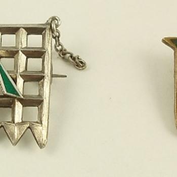 Women's Suffrage -- Hunger Strike medallions - Politics