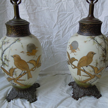 Antique lamps with an interesting history - Lamps