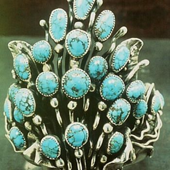 Frank Patania; American Master in Silver and Turquoise in the Smithsonian - Fine Jewelry