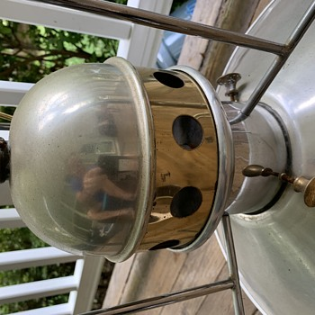 Rare ornate  pool table hanging lamp retro / other  - Lamps