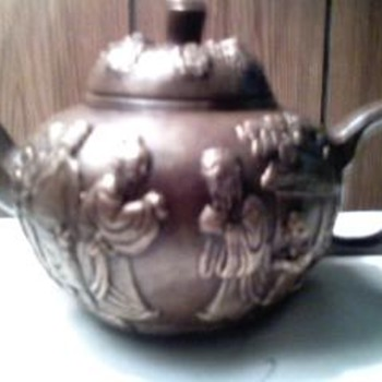 Rare Chinese Winepot - Asian