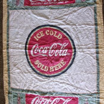 Vintage Coca Cola Quilt - Coca-Cola
