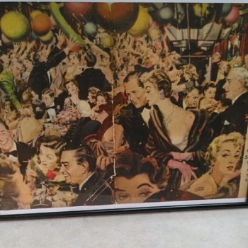STORK CLUB MENU 1955 - Paper