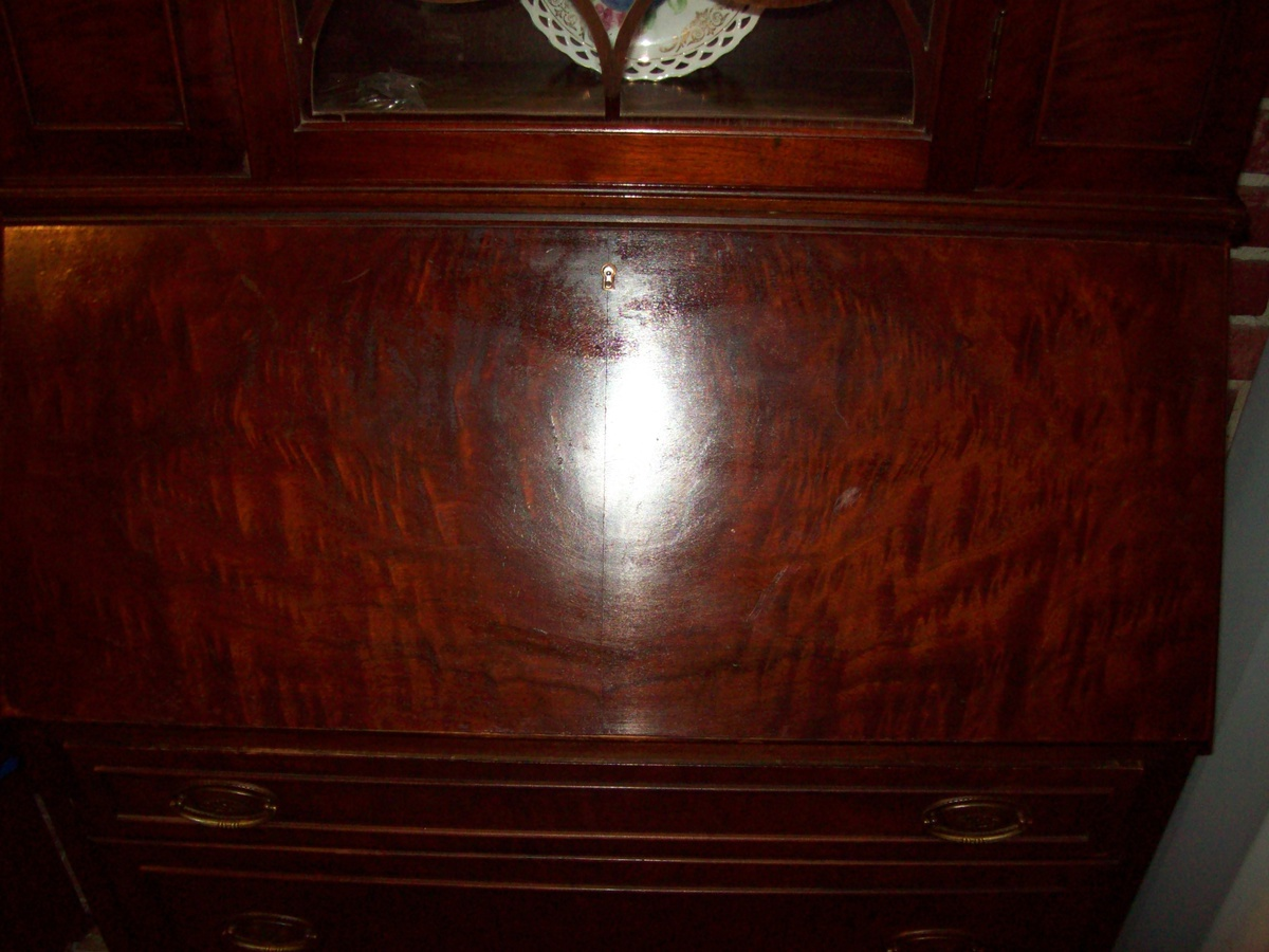 Antique Secretary Desk/Hutch By Union Furniture Co. Rockford Illinois. |  Collectors Weekly
