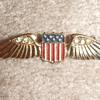 WW2 Sweetheart wing by Coro c. 1942