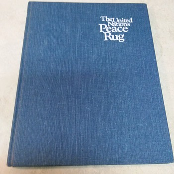 THE PEACE RUG BOOK FIRST EDITION - Books