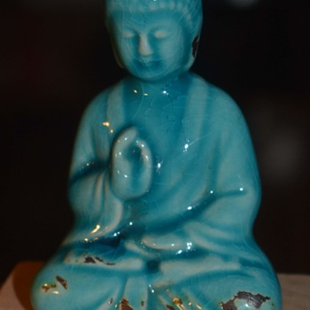 Little Blue Buddha - Asian