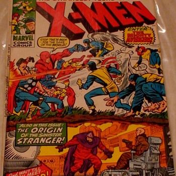 X-Men Enter The Avengers Issue 1 December 1970 Marvel Comics