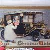 Christmas Postcard.   1914.   Beautiful Illustration.  One Of My Favorites!!