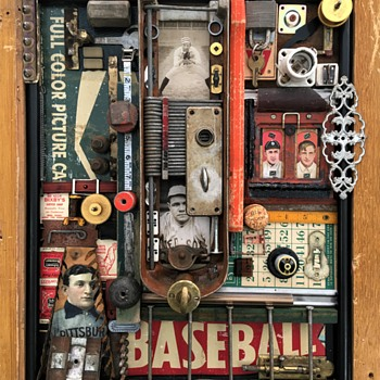 Baseball Folk Art - Baseball