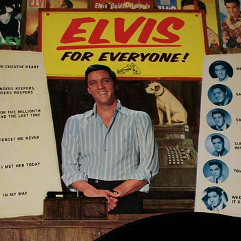 Elvis For Everyone Vinyl Album  - Music Memorabilia