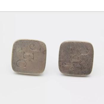 Hans Hansen cufflinks  - Silver