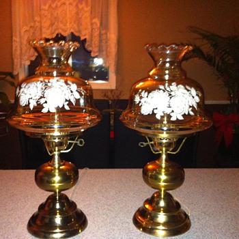 estate sale find - Lamps