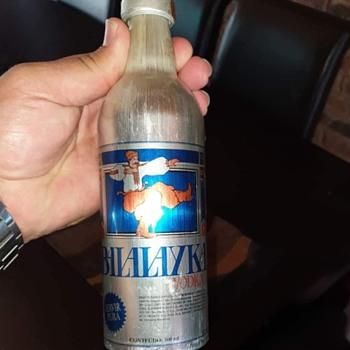 First addition sealed balaika vodka aluminum bottle