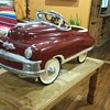 1950s MURRAY PEDAL CAR (WAS THE BLUE W WHITE ONE)