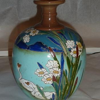 Mystery Swan vase.  - Pottery