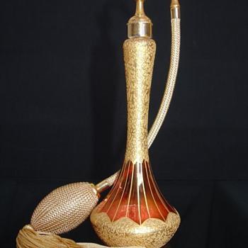 DeVilbiss – 1925-26 - Cranberry Luster & Gold