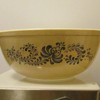 PRYEX Bowl- Glazed? - Glassware