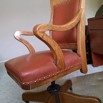 estate sale chair! please help ID - Furniture