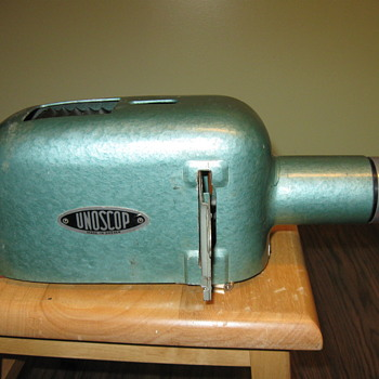 1950 Unoscop  Slide Photo Projector - Photographs