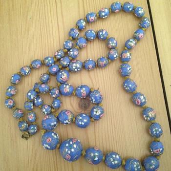 Venetian glass necklace - Costume Jewelry
